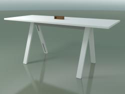 Tavolo con piano da ufficio 5022 (H 105 - 240 x 98 cm, F01, composizione 1)