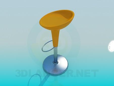 3d модель Стул для барной стойки – превью