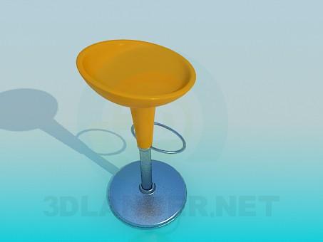 modelo 3D Silla de bar - escuchar