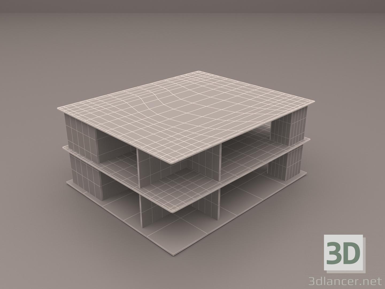 3 डी मॉडल Сoffee तालिका - पूर्वावलोकन