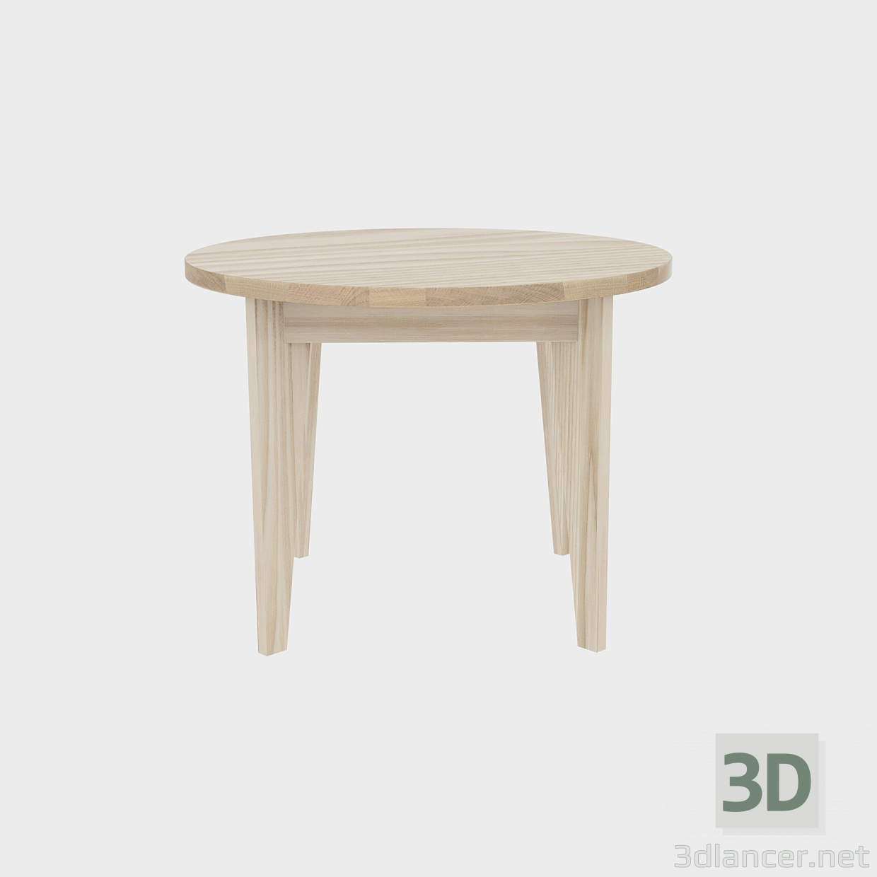 3d model Round wood - preview
