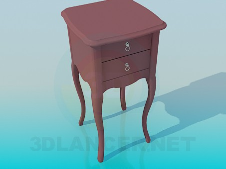 3d modeling Night-table model free download