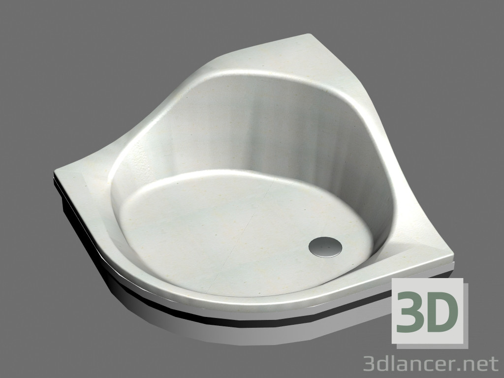 3d Model Shower Tray Tosca 90   Preview