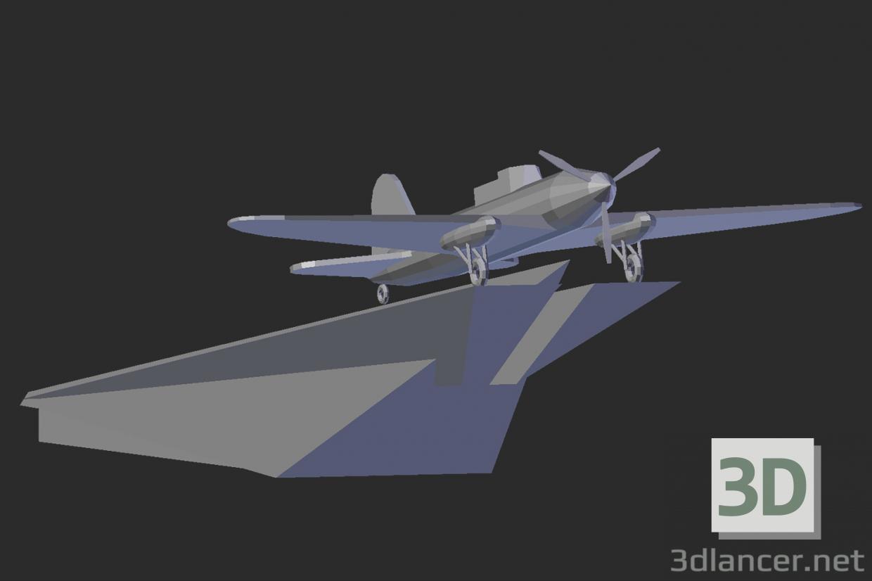 3 डी मॉडल समेरा। आईएल -2 के लिए स्मारक - पूर्वावलोकन