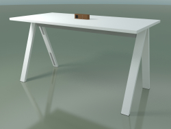 Table with office worktop 5021 (H 105 - 200 x 98 cm, F01, composition 2)