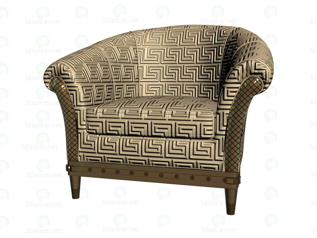 3d Modell Sessel Milady Vom Hersteller Versace Kostenlos Herunterladen 3dlancer Net