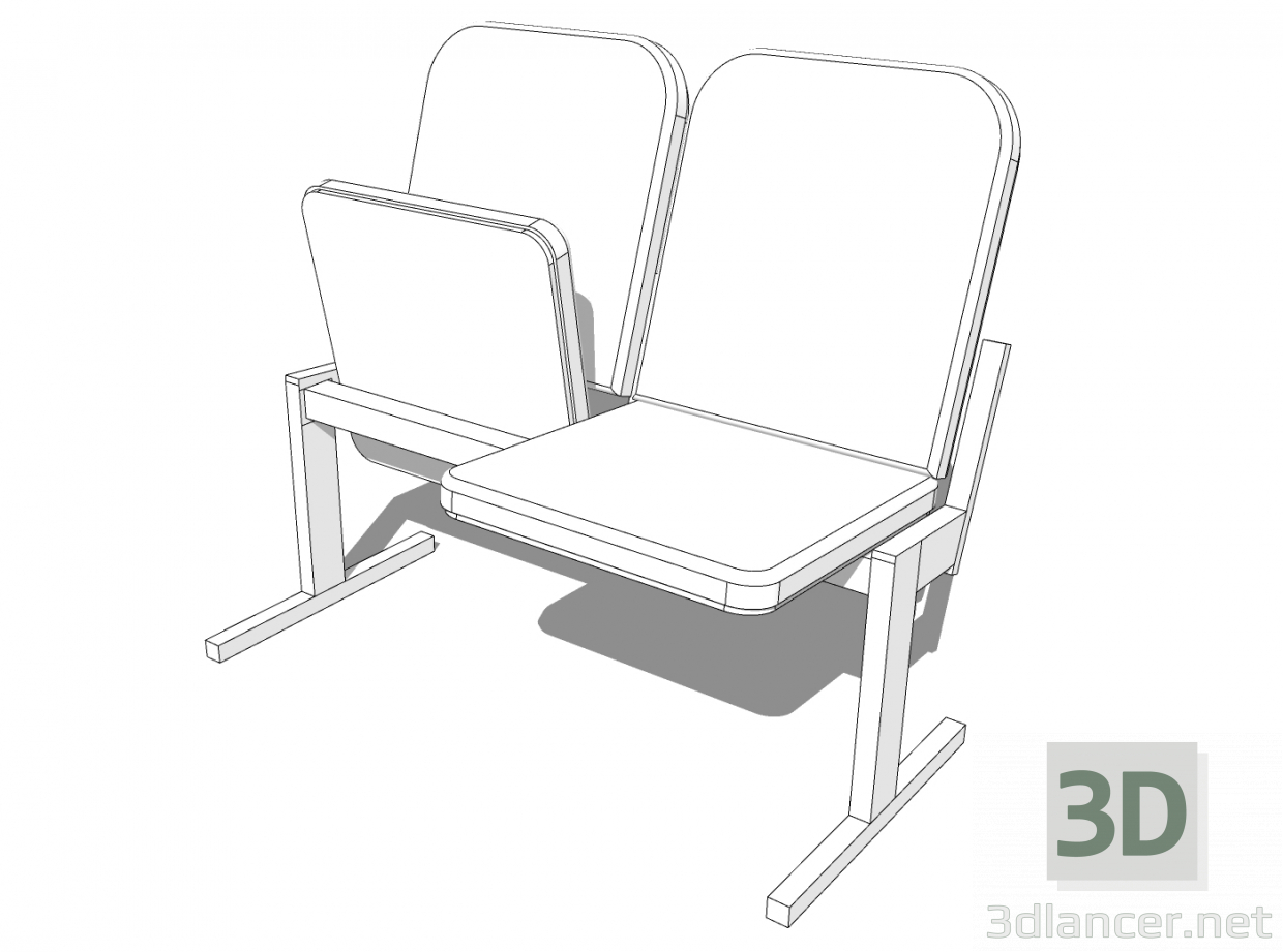 3d model Chair 001 - preview