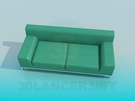 modelo 3D Sofá de alta tecnología - escuchar