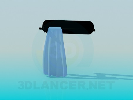 3d model Towel rack - preview
