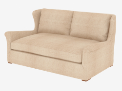 Double Sofa Wing Back