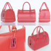 3d model Furla Candy Bauletto Bag - preview