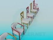 Различные стулья