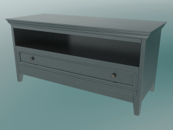 TV Stand (Black-Brown)