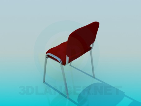 3d model Office chair ISO - preview