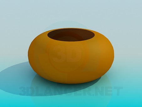 3d model Decorative vase - preview