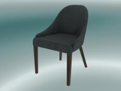 Mezza sedia Edgar (grigio scuro)