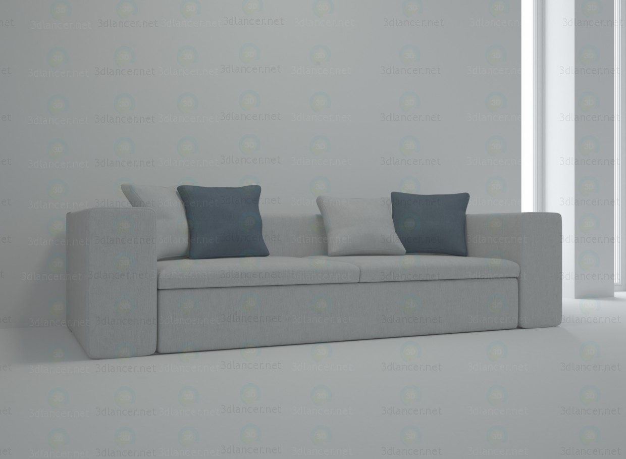 3d model Springfield sofa - preview