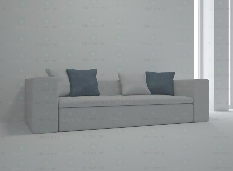 3d модель springfield sofa – превью