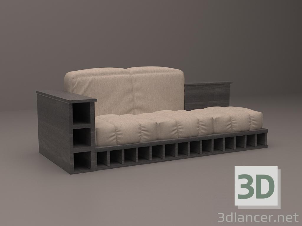 3d Furniture set model buy - render