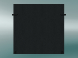 Panel high (interconnector) Outline (Refine Black Leather)