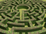 Labyrinth stone
