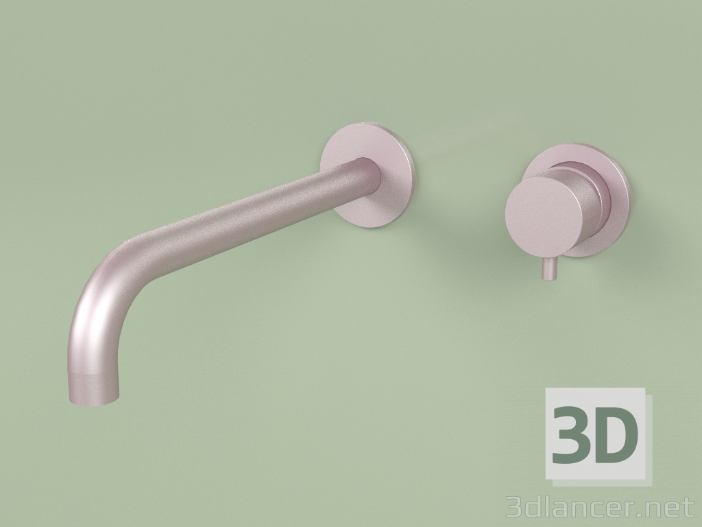 3d model Wall-mounted mixer with spout 250 mm (13 14, OR) - preview