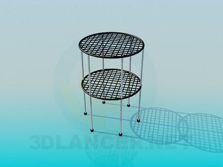 3d моделирование Подставка для комнатных растений модель скачать бесплатно