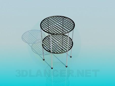 modelo 3D Soporte para las plantas de interior - escuchar