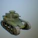 3 डी मॉडल एम सी -1 सोवियत संघ तून टैंक * बिग * - पूर्वावलोकन