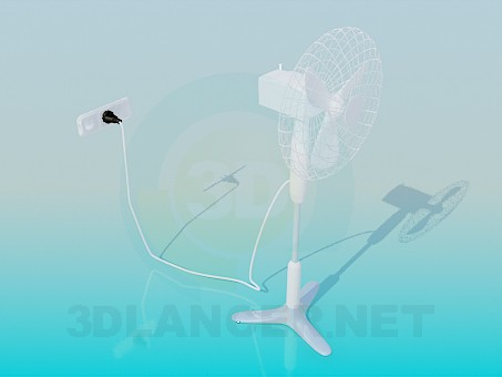 descarga gratuita de 3D modelado modelo Ventilador