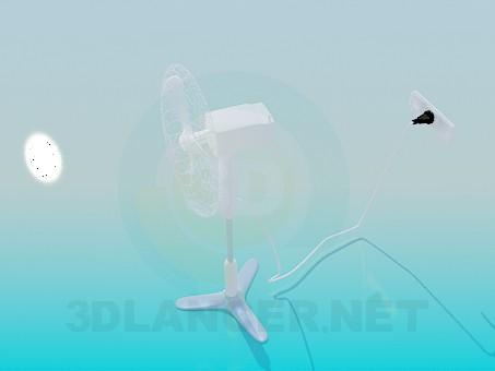 3d модель Вентилятор – превью