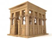 Egyptian Temple of Philae Trajan Kiosk