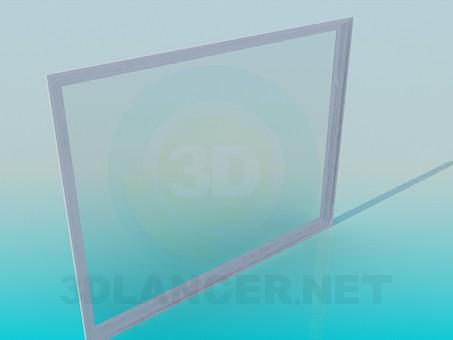 3d модель Величезне дзеркало – превью