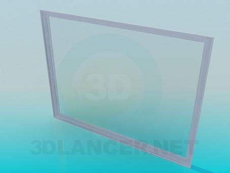 3d модель Огромное зеркало – превью