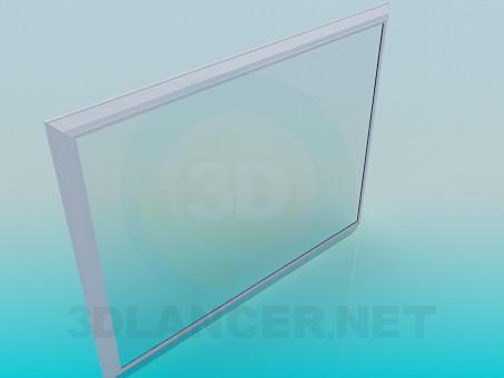 modelo 3D Gran espejo - escuchar