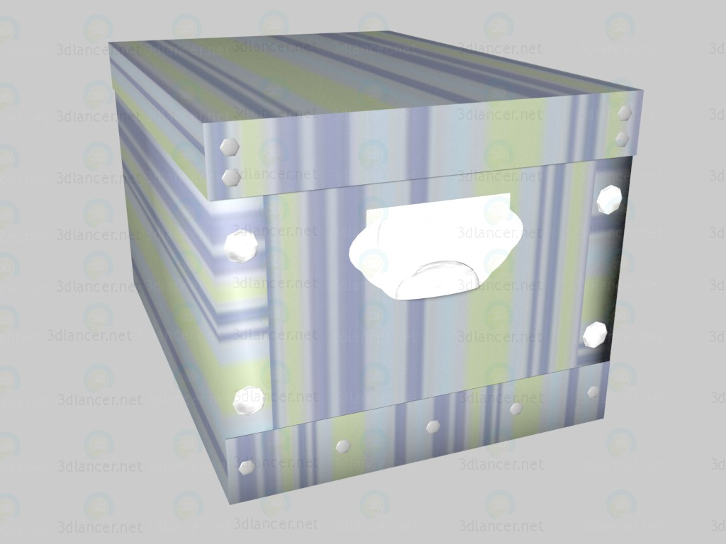 3d model Rainbow box (small)-VOX - preview