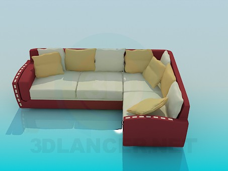 3d modeling Soft Corner model free download