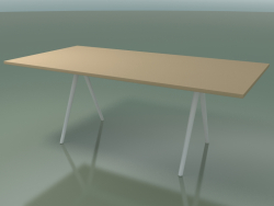 Table rectangulaire 5411 (H 74 - 99x200 cm, stratifié Fenix F03, V12)