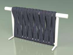 Backrest of sofa module 211 (Metal Milk, Gray-Blue Belt)