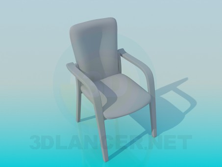 3d modeling Стул model free download