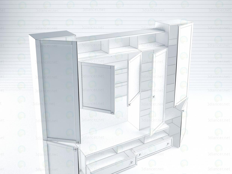 3d Living Fiji model buy - render