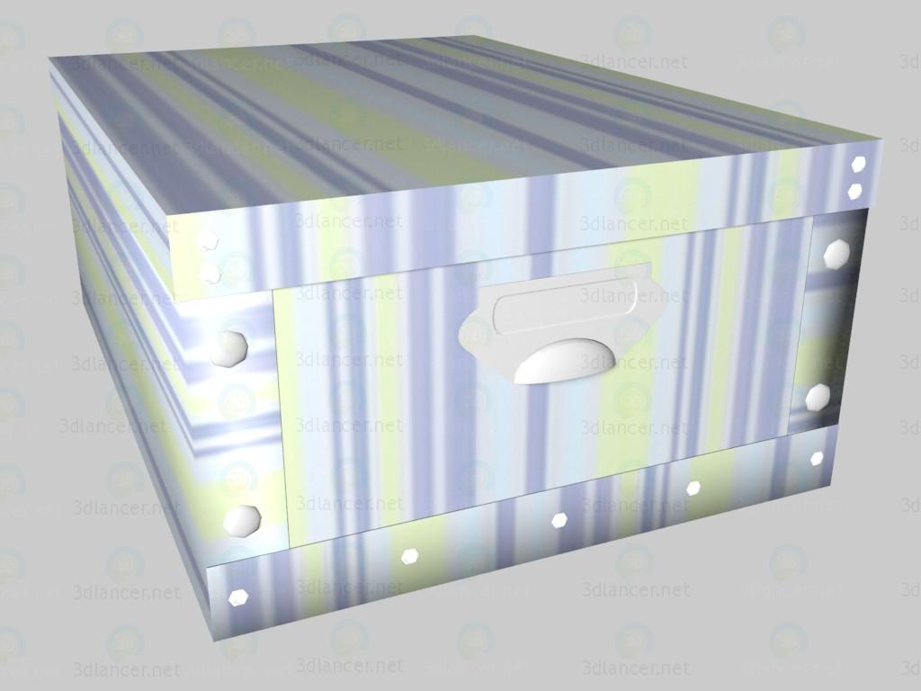 3d модель Коробка Rainbow (средняя) – превью
