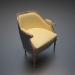 3 डी मॉडल बंहदार कुरसी - पूर्वावलोकन