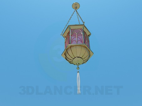 3d model Flashlight in Chinese style - preview