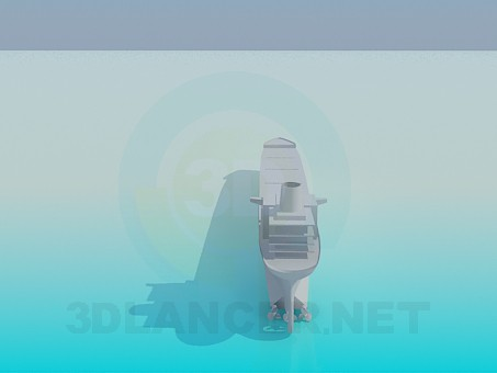 3d модель Лайнер – превью