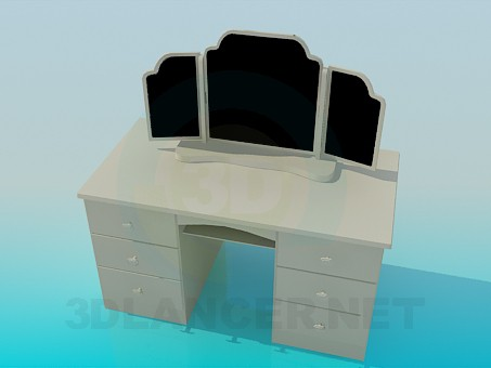 3d model Espejo de piso - vista previa
