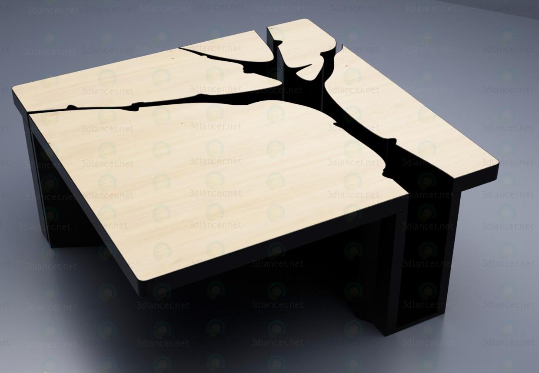 3d модель Стіл декоративний – превью