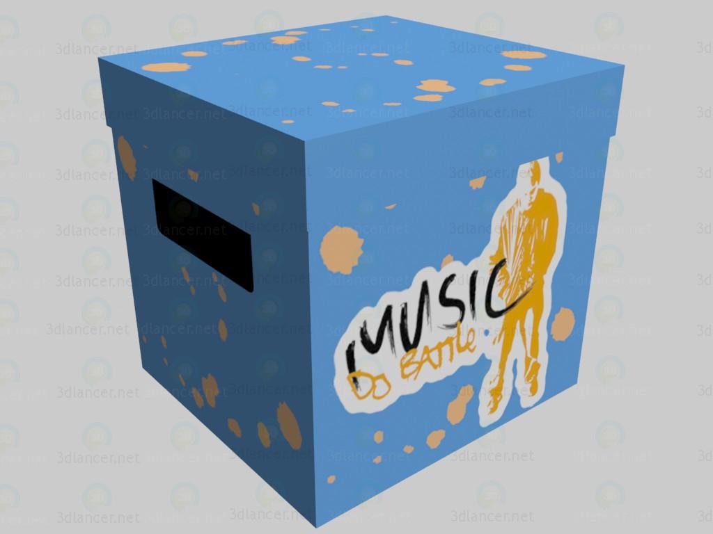 3d модель Коробка DJ Battle VOX – превью