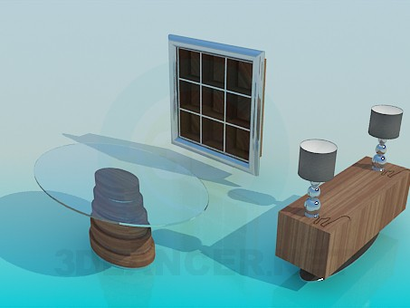 3d model Furniture for living room - preview
