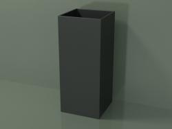 Floor-standing washbasin (03UN16101, Deep Nocturne C38, L 36, P 36, H 85 cm)